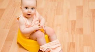 Как приучить годовалого ребенка к горшку