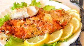 Как готовить рыбу путассу