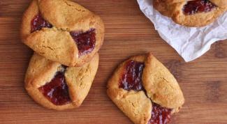 Как приготовить рассыпчатое печенье с джемом