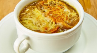 Как приготовить французский суп из репчатого лука