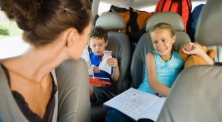 Во что поиграть с ребенком в автомобиле