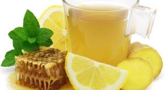Укрепляем иммунитет и лечим простуду при помощи имбирно-лимонного напитка