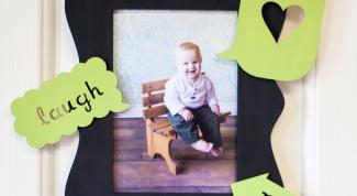 Как украсит рамку для фото в стиле минимализм