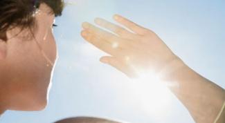 Защита от солнца в городе