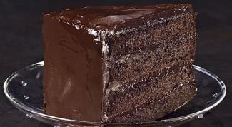 "Торт ""Пища дьявола"""