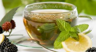 Полезные свойства чая с мятой