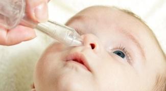 Причина насморка у новорожденных и как с ним бороться?