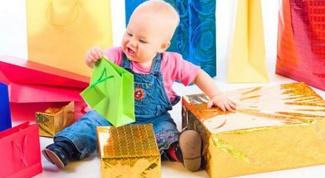 Что подарить мальчику на 1 год