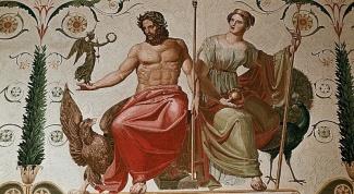 Древнегреческие боги: имена и характеры