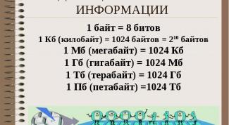How many kilobytes in megabytes, gigabytes and terabytes