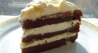 """Творожный торт """"Кофе по-милански"""""""