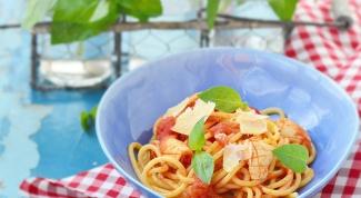 Как приготовить спагетти с кальмарами
