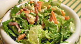 Салат из пекинской капусты «Каприз»