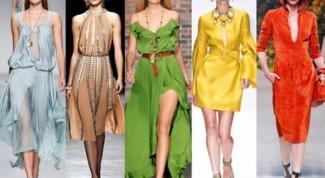 7 модных цветов весны-лета 2014
