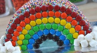 Торт «Радуга»