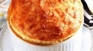 Суфле из сыра