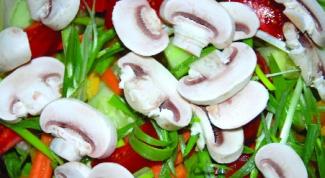 Как приготовить вкусный салат с шампиньонами