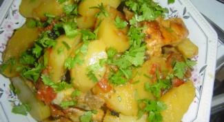 Как быстро и вкусно приготовить курицу с картофелем