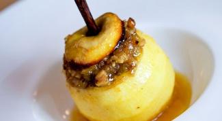 Запеченные медовые яблочки в мультиварке
