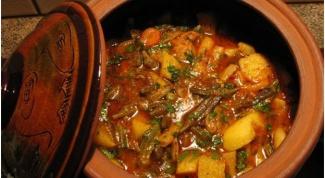 Как приготовить гювеч с овощами