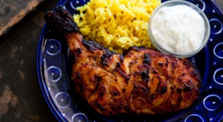 "Индийское блюдо - ""Курица Тандури"""