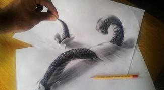 Как рисовать 3d рисунки на бумаге и асфальте