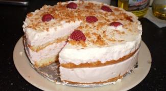 Cake souffle without baking