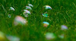Мыльные пузыри своими руками