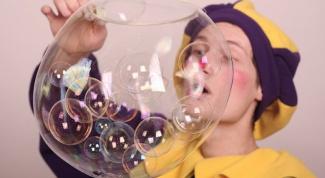 Эксперименты с мыльными пузырями