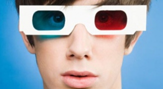 3d glasses with their own hands