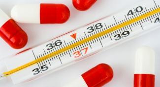 Какими средствами снижают температуру