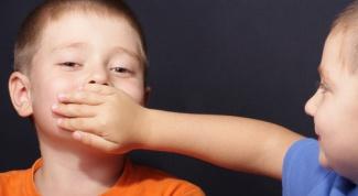 Как отучить ребенка от мата