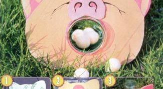 Как сделать мишень-свинку