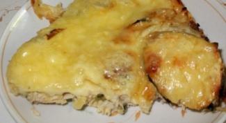Овощная запеканка с куриным мясом