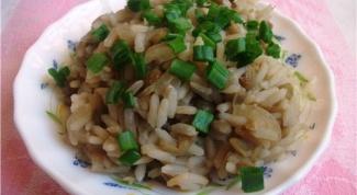 Как приготовить блюдо из чечевицы и риса
