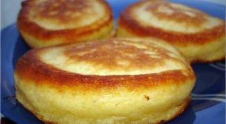 How to make regular pancakes on kefir