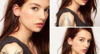 Как сделать татуировку в фотошопе