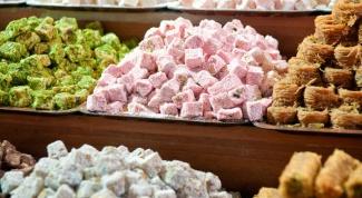 Сколько калорий в рахат лукуме