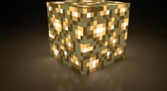 Как сделать светящуюся пыль в Minecraft