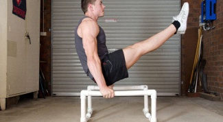 How to make parallel bars at home