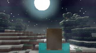 Как сделать вечную ночь в minecraft
