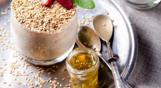 Как приготовить пудинг из семян льна?