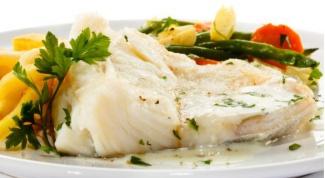 Нежная рыба с чесноком и петрушкой