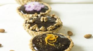 Тарталетки с маково-шоколадной начинкой