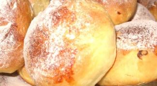 Как приготовить вкусные сдобные булочки