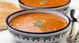 Марокканская кухня: пряный и густой суп-харира