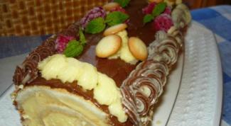 Торт-рулет «Сказка»