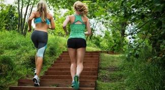 Как похудеть с помощью тренировок на лестнице