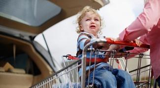Как не допустить в магазине детской истерики