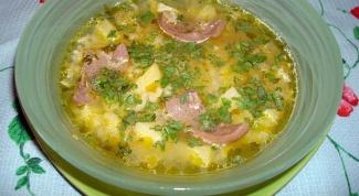Суп из говяжьих почек